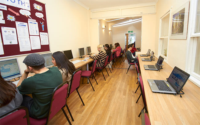 Self-access study centre
