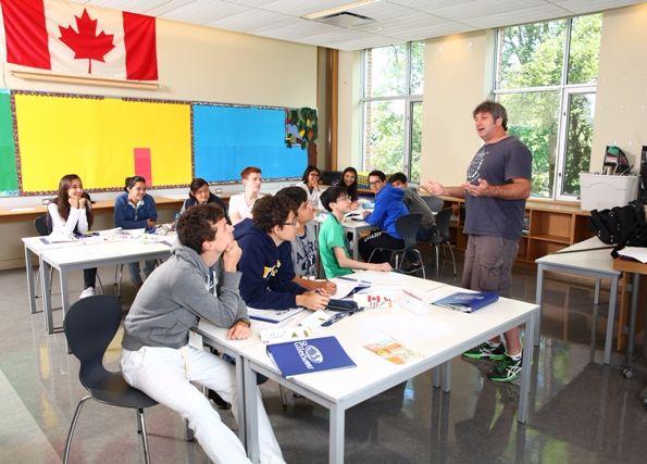 St Giles Toronto classroom